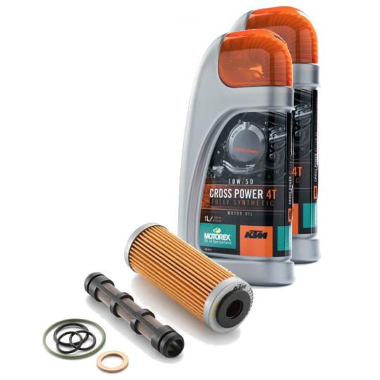 KTM Motorex Oil Change Kit 250/350 XC-F/W/EXC/SX-F 12-19 (see fit)