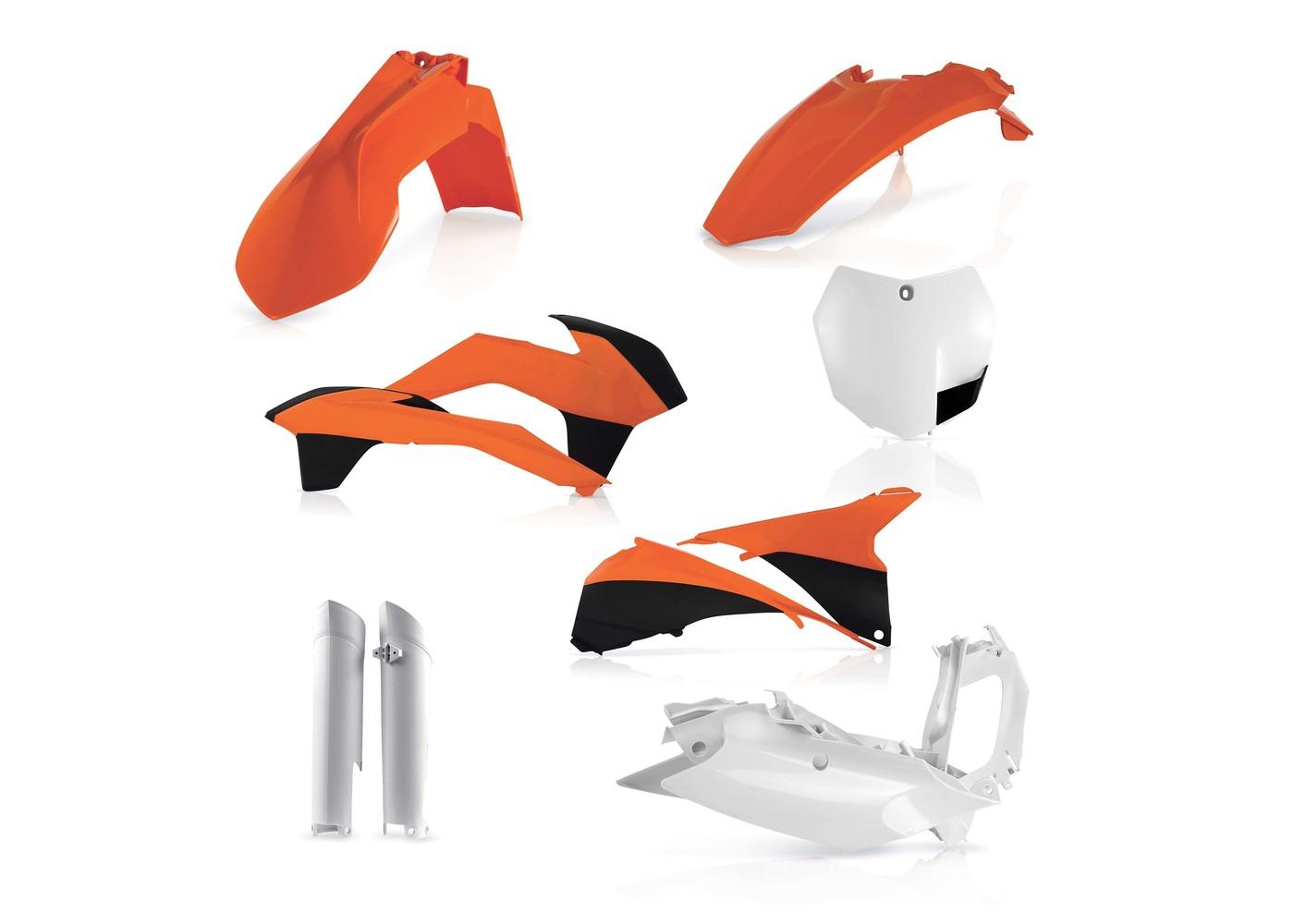 Acerbis 0013142.553 Plastic Kit KAW KXF 450 09-11 Original