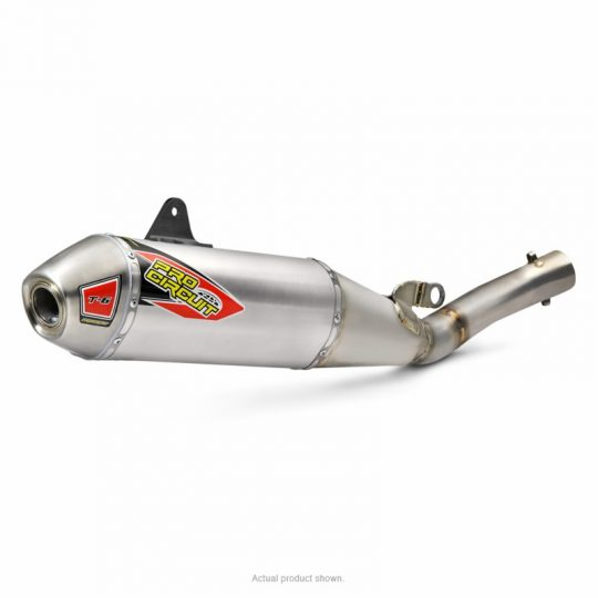 Pro Circuit T-6 Stainless Slip-On YZ450F 2018