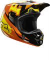 2014 Fox Anthem V2 Helmet (Orange)
