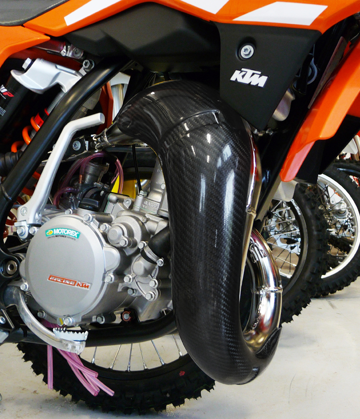 Ktm Carbon Pipe Guard