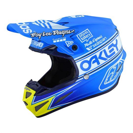 Troy Lee Designs Helmet >> 2019 Troy Lee Designs Se4 Composite Team Edition 2 Helmet Ocean