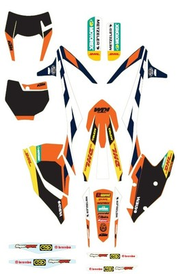 2017 Ktm Factory Enduro Graphics Available Http Www