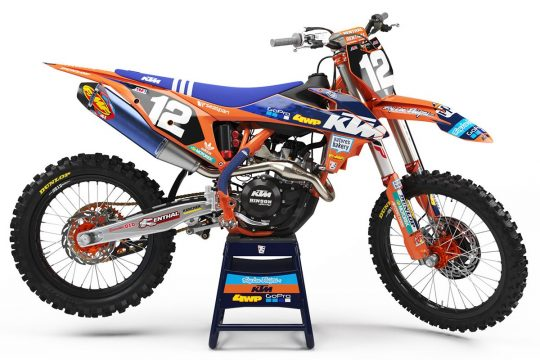2019 KTM/TLD Team Graphic Kit by Throttle Syndicate