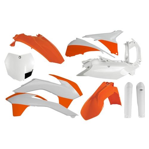2018 ktm plastics. unique plastics acerbis full plastic kit 2015 ktm by white with 2018 ktm plastics