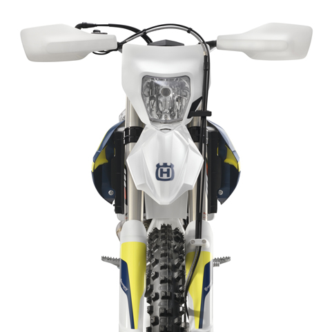 Husqvarna Aluminum Handguards White FE 501 2017 PN:7650297900028 HTM Offroad