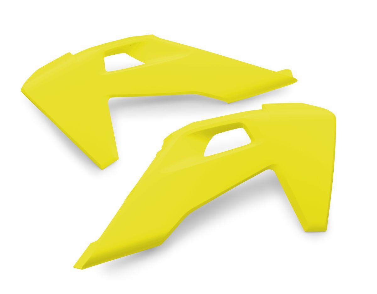 Husqvarna Radiator Shrouds (Yellow) 19-20