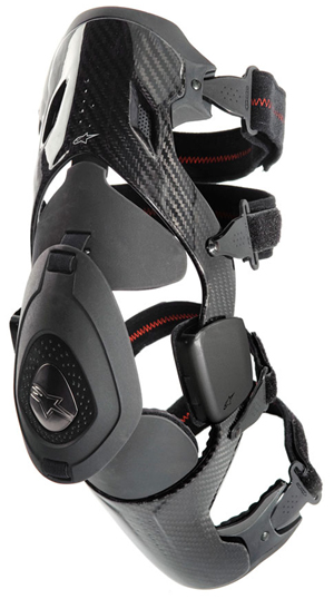 Aomc Mx Alpinestars B2 Carbon Knee Brace Left