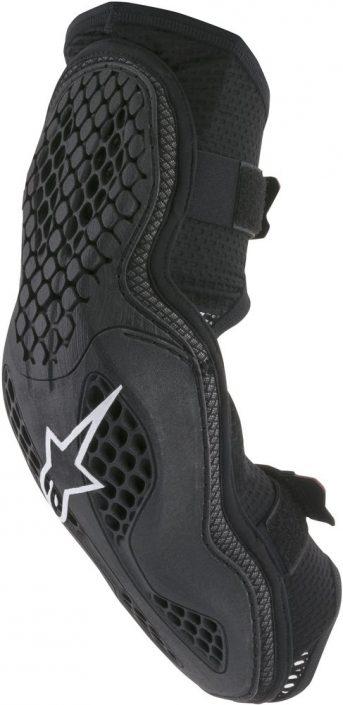 Alpinestars Vapor Pro Knee Guard Black//Gray Black, Small - Medium