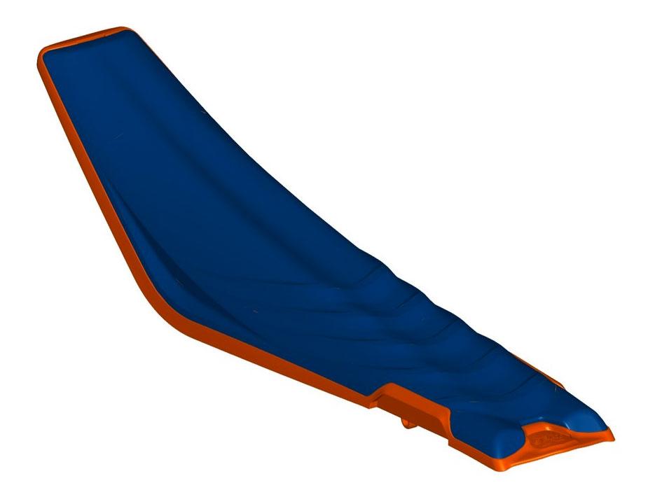 Acerbis 24497-41454 X-Seat Blue//Orange