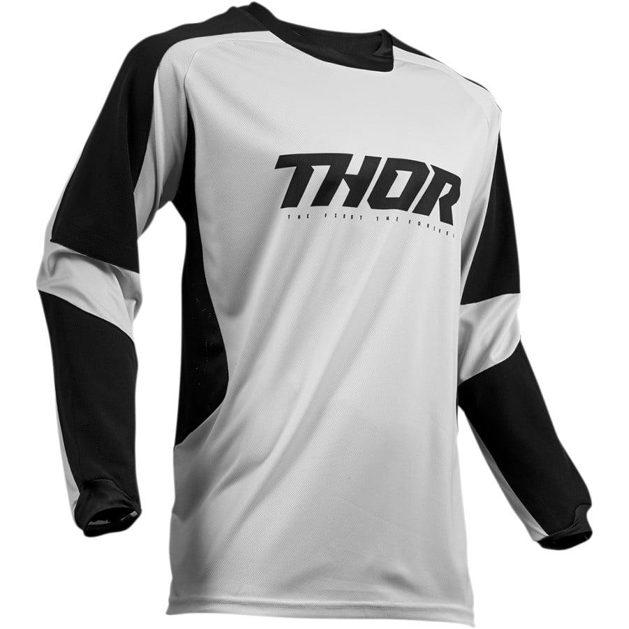 2020 Thor Terrain Jersey (Light Gray/Black)