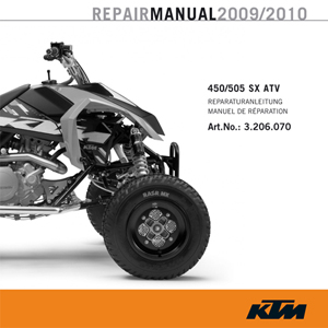 aomc mx cd repair manual 450 505 sx atv rh ktm parts com Arctic Cat ATV Repair Manual Polaris Repair Manual