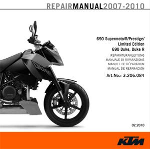 aomc.mx: cd repair manual ktm 690 sm/duke 07-10