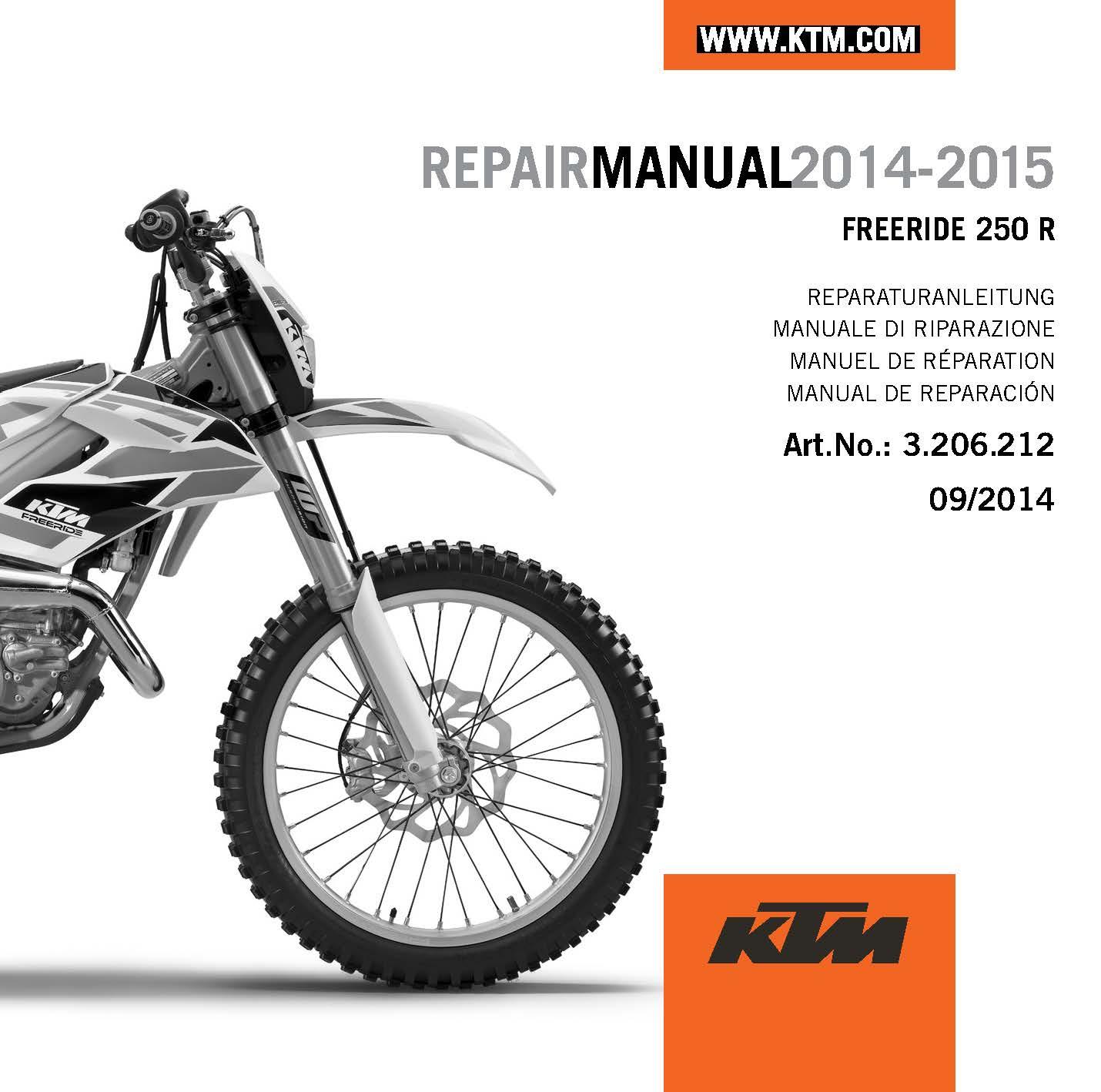 ktm 250 sxf 2013 repair manual heritage malta rh heritagemalta org 1997 KTM  250 SX KTM 125 SX