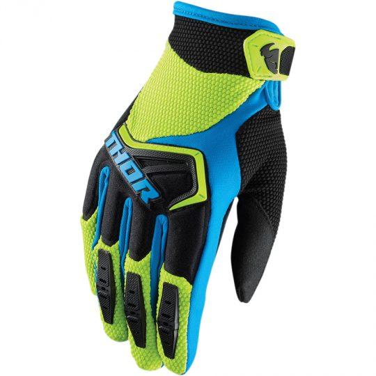 Thor Spectrum Mens MX Offroad Gloves Black//White