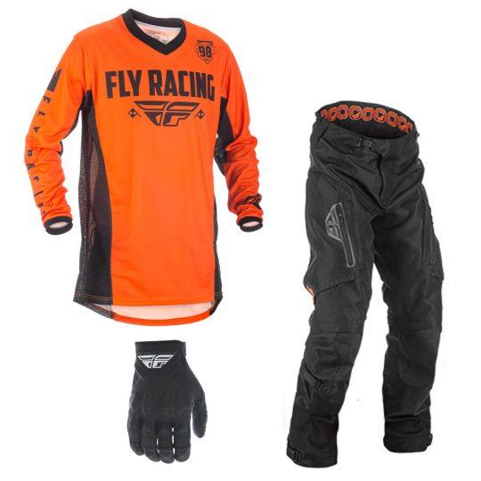 2019 Fly Racing Patrol Pant Black Adventure Dirt Bike MX XC ATV Off Road Gear
