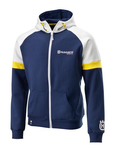2017 husqvarna team zip hoodie. Black Bedroom Furniture Sets. Home Design Ideas
