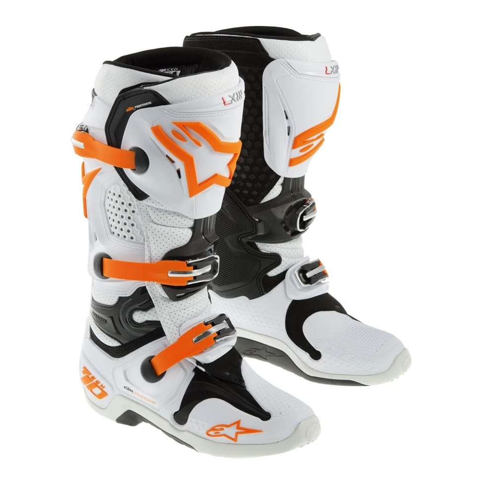 Aomc Mx Ktm Tech 10 Boot By Alpinestars