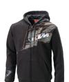 2014 KTM Splatter Zip Front Hoodie (Black)