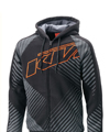 2014 KTM Interlaced Zip Front Hoodie