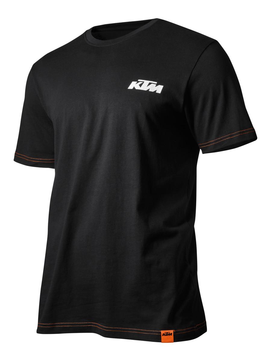 KTM RACING TEE WHITE//SHIRT//POWERWEAR//MOTOCROSS//ENDURO//ACCESSORIES// 3PW1756703