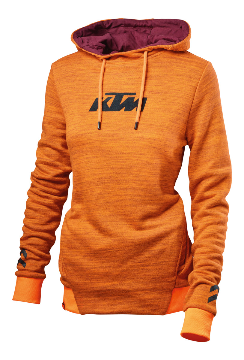 KTM Women Unbound Tee Green//Orange L