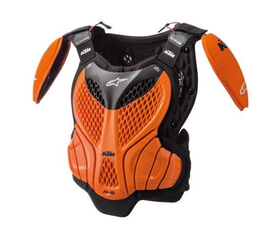 2019 Ktm Kids A5 S Body Protector Orange Black