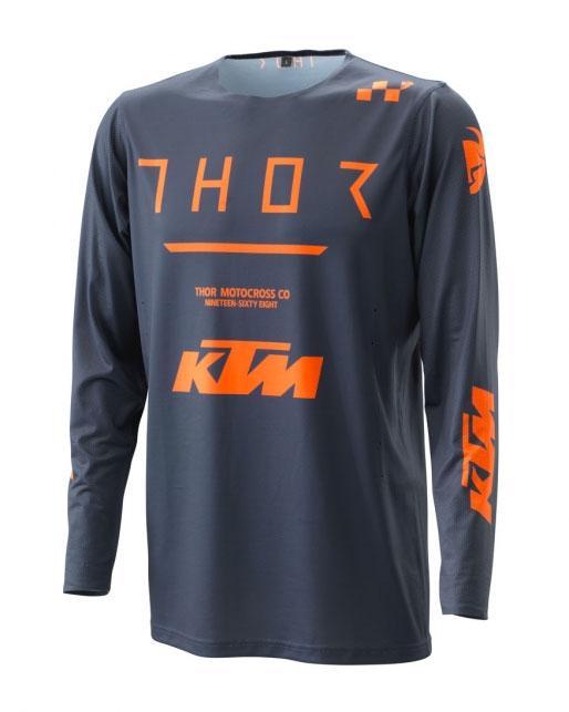 2020 KTM Prime Pro Jersey (Black/Orange)