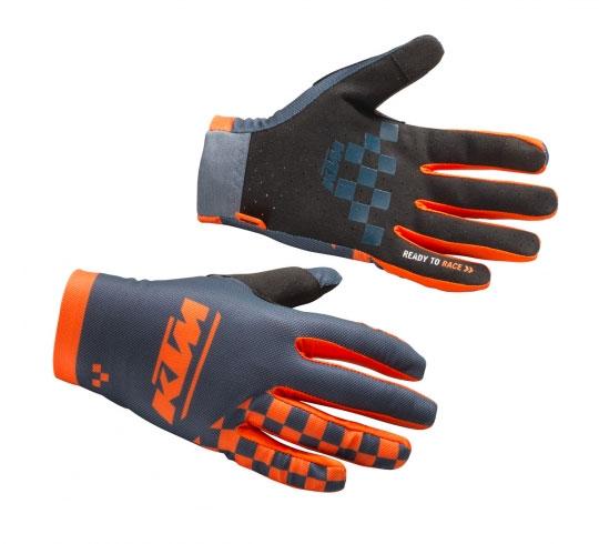 2020 KTM Prime Pro Gloves (Black/Orange)