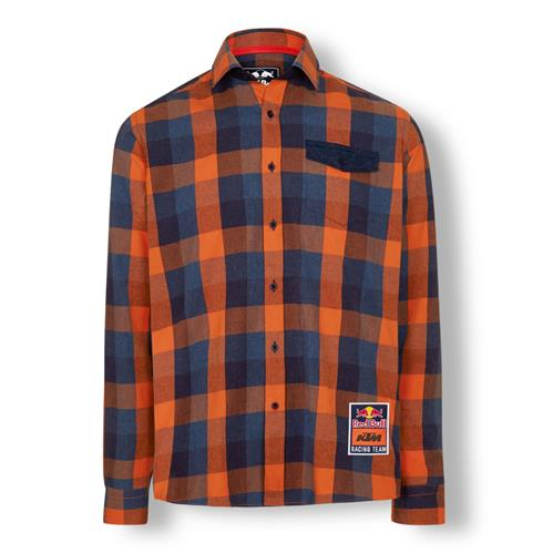 2020 Red Bull KTM Checked Flannel Shirt