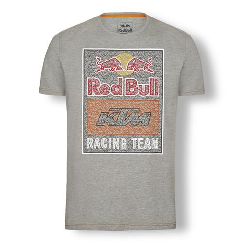 Red Bull KTM Racing Team Graphic Tee (Gray)