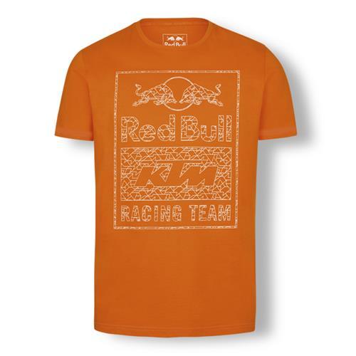 Red Bull KTM Racing Team Graphic Tee (Orange)