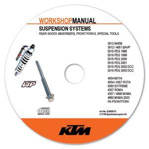 aomc.mx: ktm cd repair manual wp suspension 98-03
