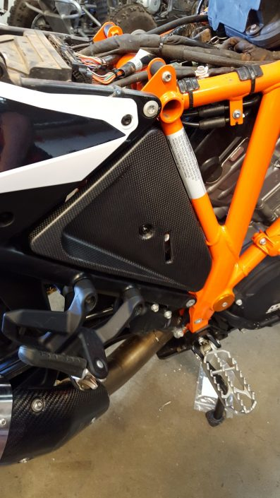 KTM Carbon Fiber Side Fairings 1190/1290 Adventure