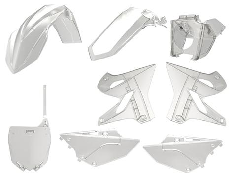 Polisport Clear Restyling Plastic Kit YZ125/250