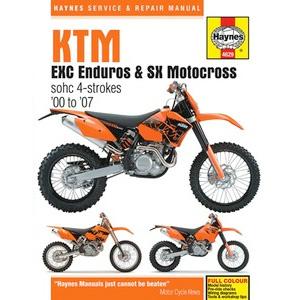aomc mx haynes repair manual ktm rfs 00 07 rh ktm parts com ktm 525 service manual ktm rfs service manual