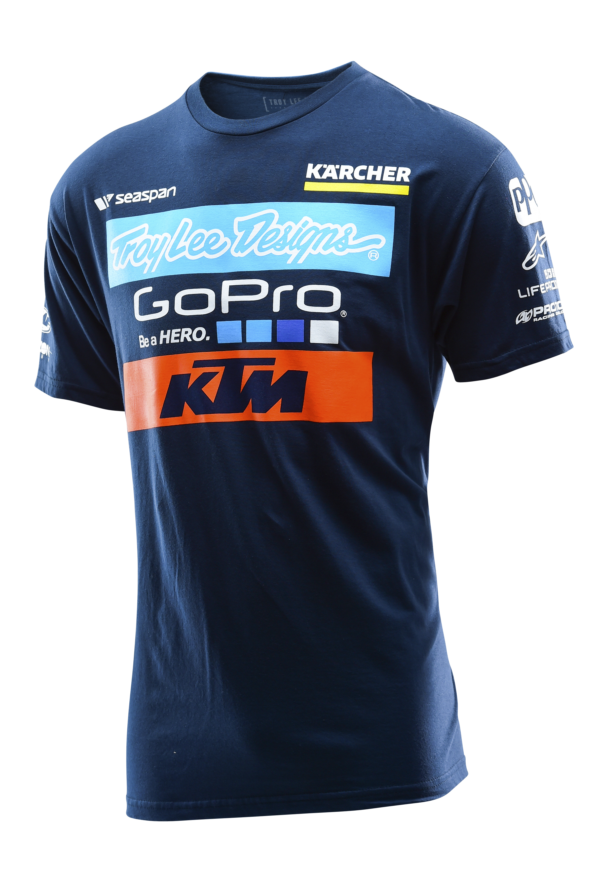 Aomc Mx 2016 Ktm Tld Factory Team Tee Blue