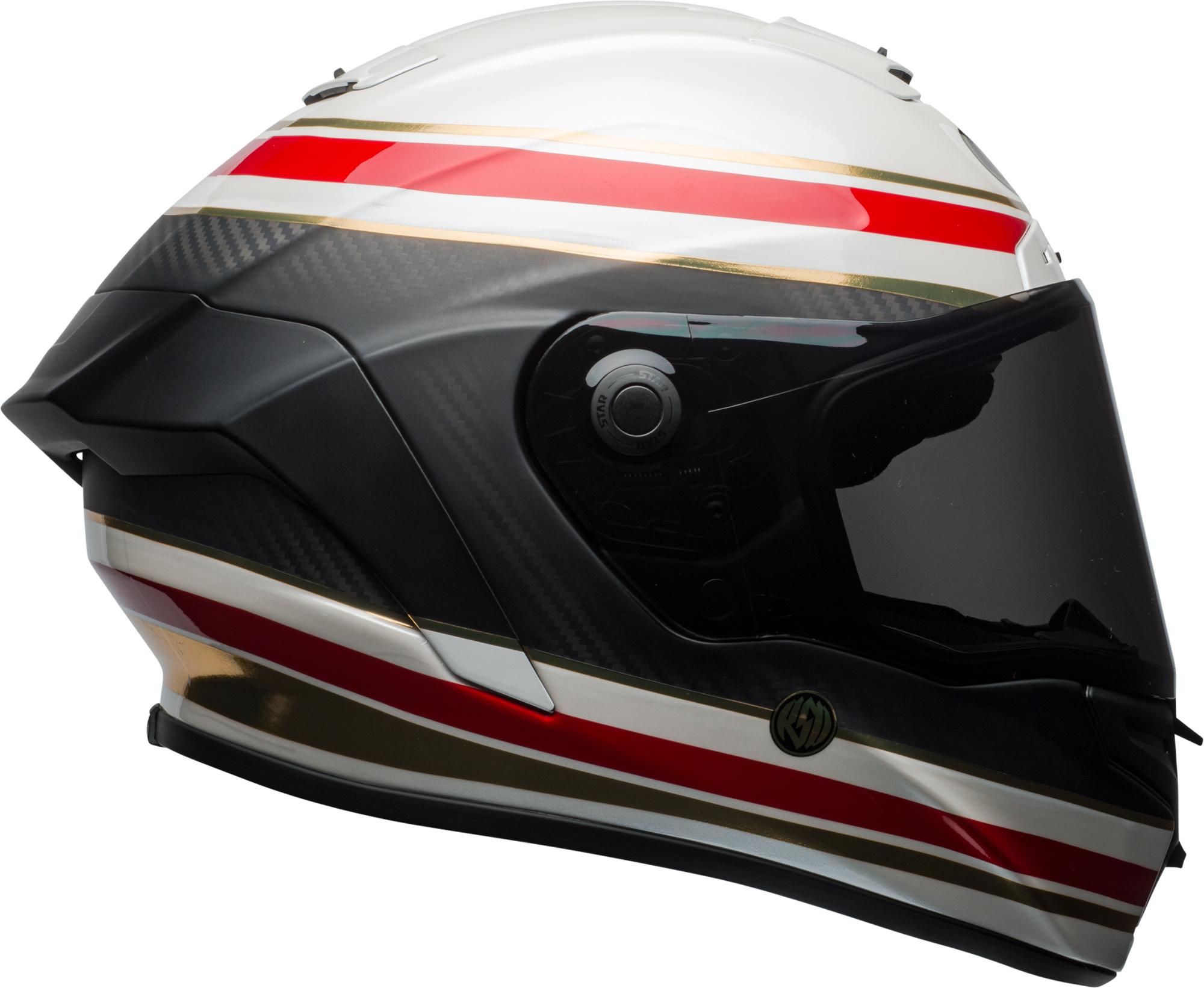 9efca802 AOMC.mx: 2018 Bell Race Star RSD Formula Helmet (Matte White/Red/Carbon)
