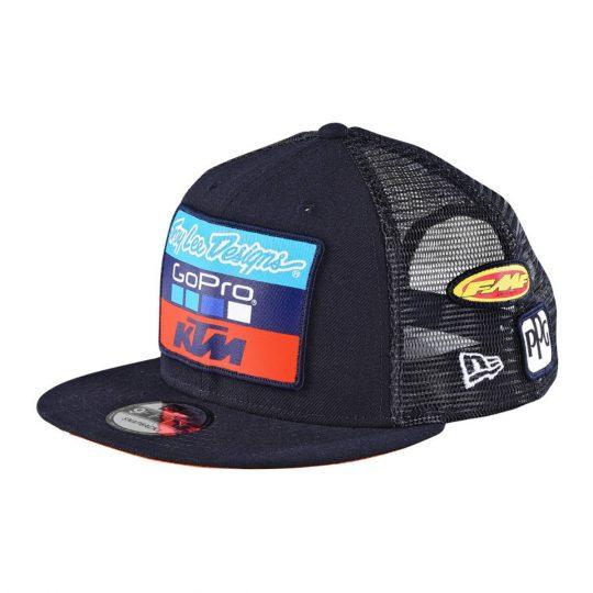 AOMC.mx  2017 KTM TLD Team Snapback Hat (Navy) 4b781230276