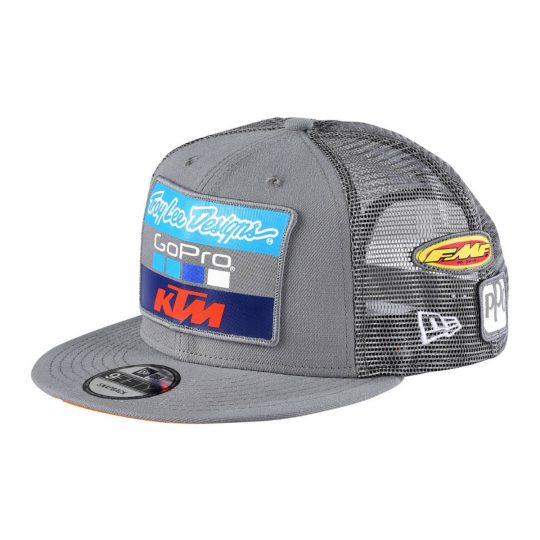 131833c93d0 AOMC.mx  2017 KTM TLD Team Snapback Hat (Charcoal)
