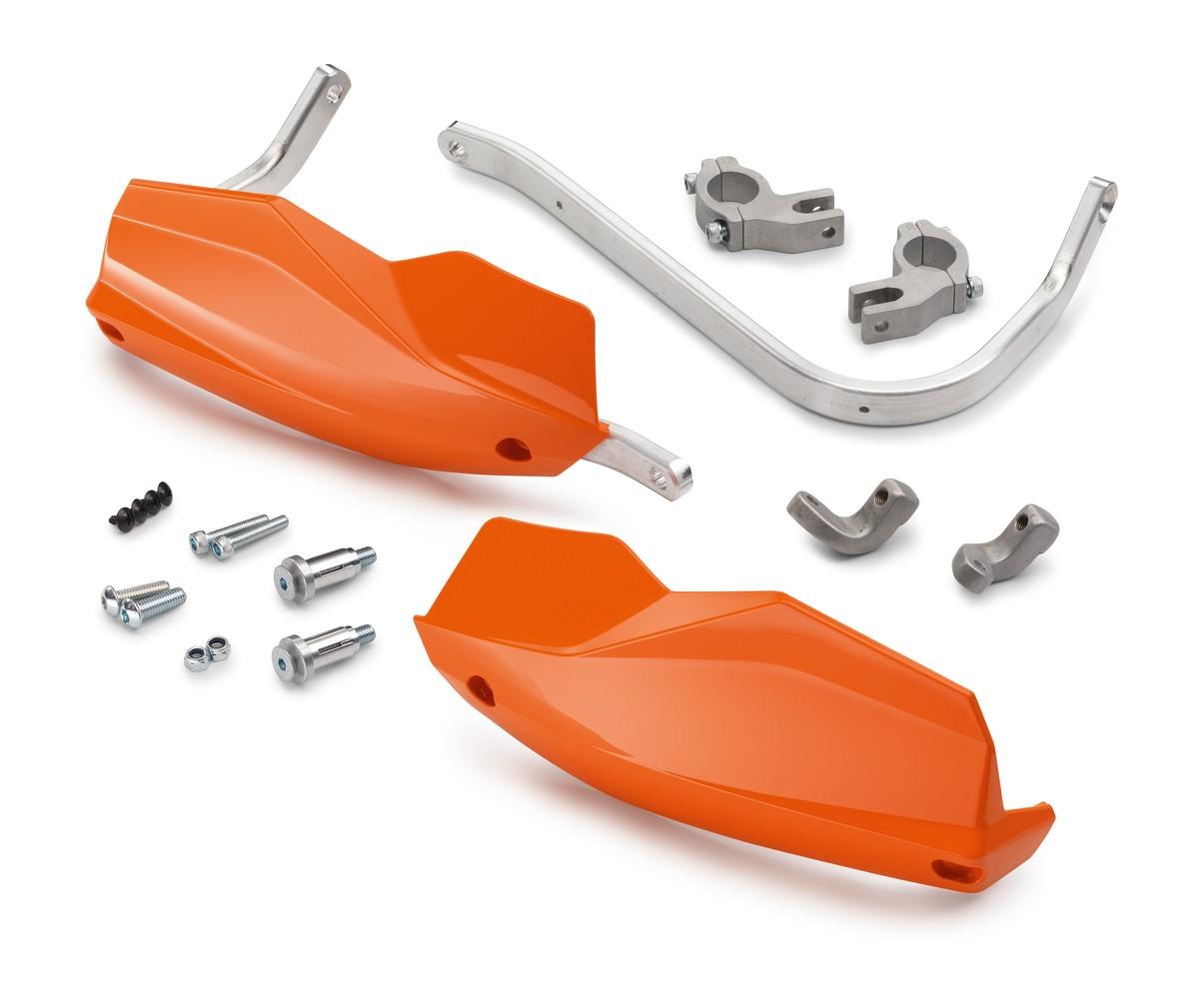 ktm aluminum handguards orange 1190 adv. Black Bedroom Furniture Sets. Home Design Ideas