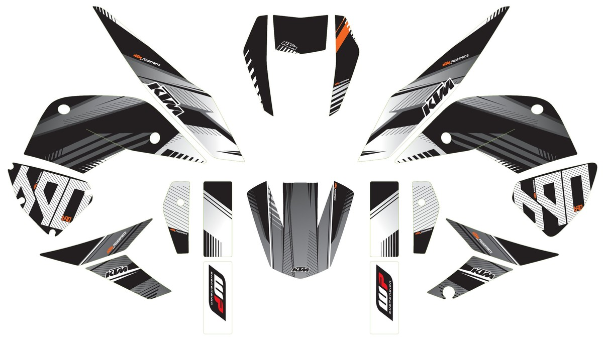 Ktm Motorcycle Decals