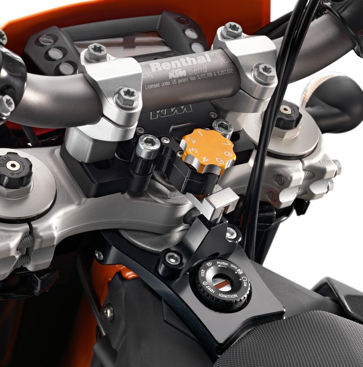 Honda Steering Damper On Ktm