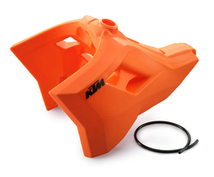 Youth Dirt Bike Boots >> AOMC.mx: Acerbis MDR Fuel Tank 6.3Gal (Orange) KTM 08-09