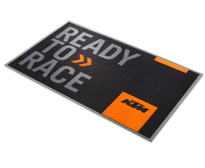 ktm factory ready to race pit mat. Black Bedroom Furniture Sets. Home Design Ideas