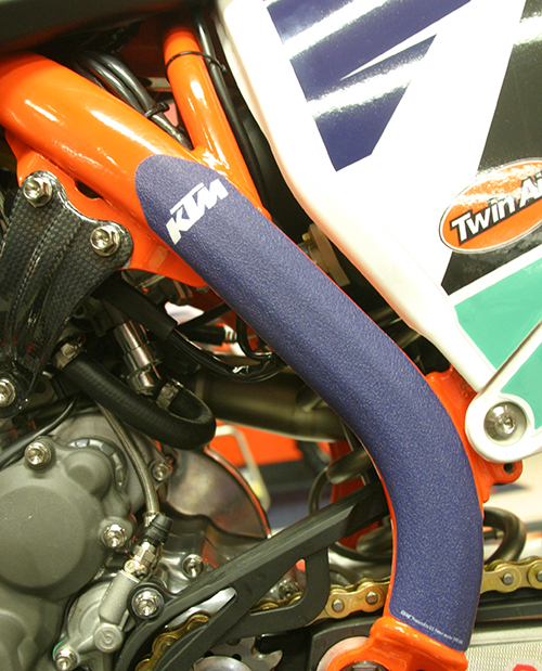 AOMC.mx: KTM Frame Protection Decals (Blue) 16-19