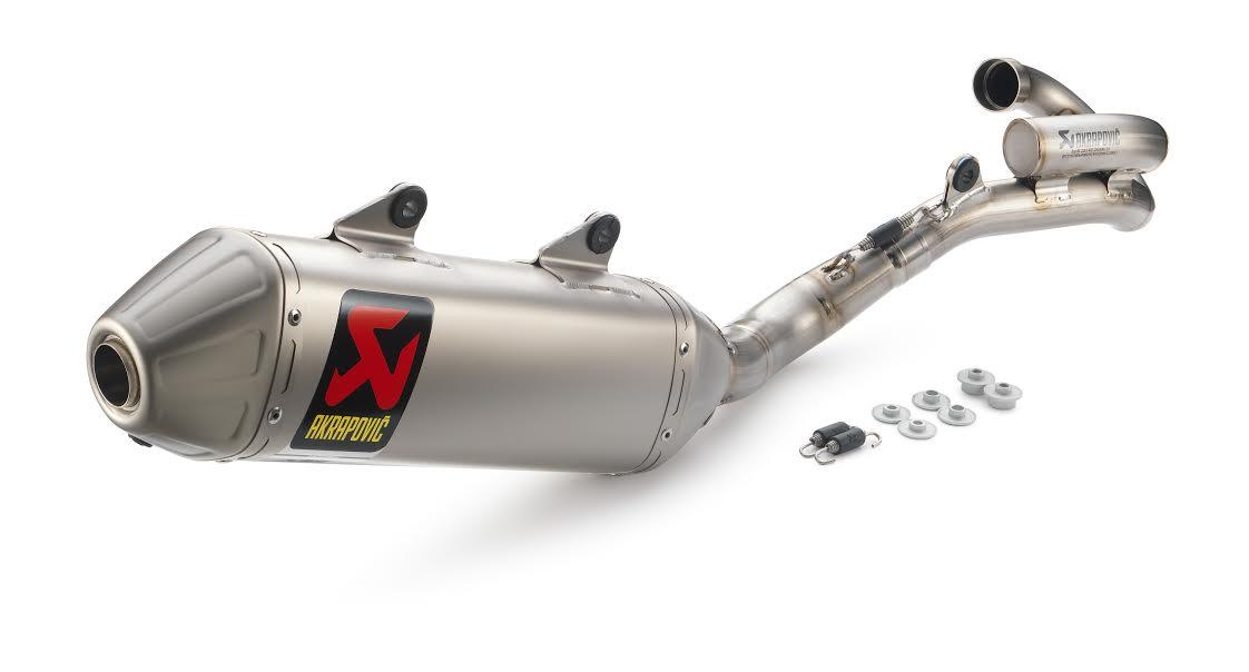 Akrapovic Auspuff Aufkleber Hitzefest KTM SX-F 350 i.e 4T SX-F 450