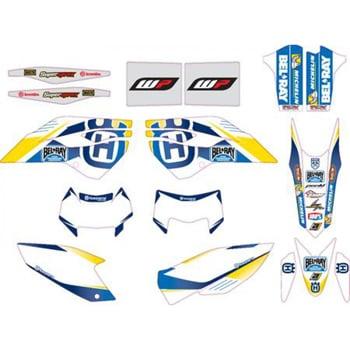 Aomc Mx Husqvarna Factory Enduro Graphics Kit Te Fe 14 15