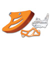 TMD Rear Disc Guard & Caliper Cover Kit KTM (Orange)
