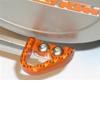 System Tech Brake Pedal Plate KTM (Orange)